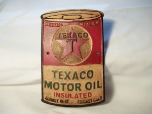 Aluminum Texaco Oil Can $11.75