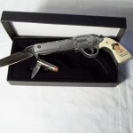 Billy the Kid Pistol & Bullet Knives $12.50