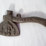Carry Nation Cut Out The Whiskey Axe $6.75