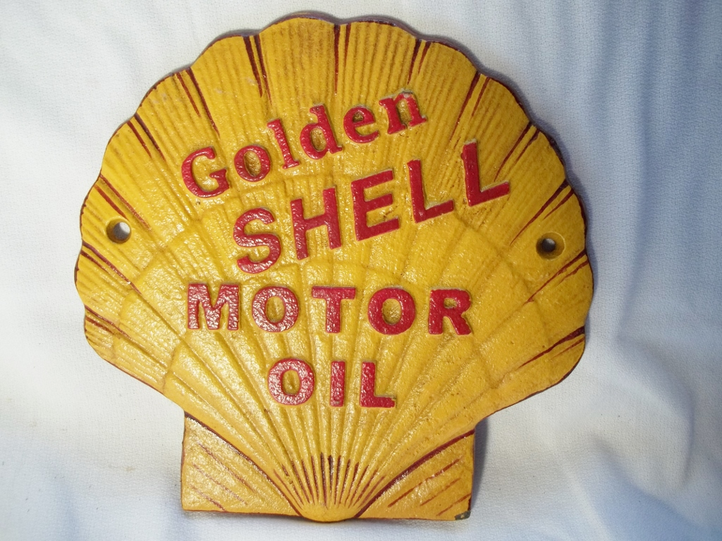 Metal Cast Iron Signs Railroad Western Oil Amp Gas Tire