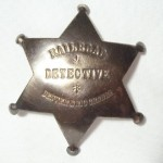 Railroad Detective Denver & Rio Grande Badge $5.50