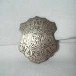 Fancy Deputy US Marshal Badge $8.00