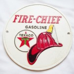 Texaco Fire-Chief Gasoline Sign $11.75