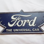 Ford The Universal Car Sign $11.75