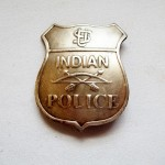 US Indian Police Badge $8.00