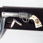 Jesse James Pistol & Bullet Knives $12.50