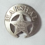 Marshal I.T. (Indian Territory) United States Badge $8.00
