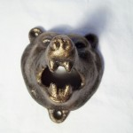 Cast Iron Grizzly Bear Bottle Opener $6.50