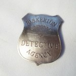 Pinkerton National Detective Agency Badge $8.00