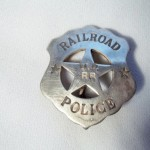 Railroad U.P. RR Police Badge $8.00