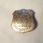 C.R.I. & P.R.R. Private Police Detective Badge $8.00
