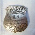 Fancy Sheriff Badge $8.00