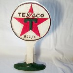 Texaco Oil & Gas Doorstop $12.50