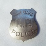 Union Pacific R.R. Police Badge $8.00