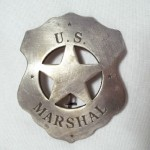 Plain US Marshal Shield Badge $8.00