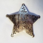 US Marshal Star Scroll Badge Badge $8.00