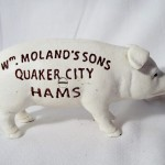 Cast Iron Moland's Ham Bank $10.50 Temporarily Out Of Stock