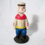 Cast Iron Popeye Bank $9.00 Temporarily Out of Stock