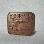 Tombstone Arizona Terr 1881 Gun Butt $2.75