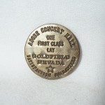 Adobe Concert Hall Goldfield NV Brass Brothel Token $1.50