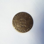 The Hog Ranch Ft Laramie Wy Brass Brothel Token $1.50