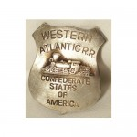 Confederate States Railroad Badge $8.00