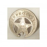 Special Police Badge $8.00