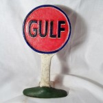 Gulf Oil & Gas Doorstop $15.00 Temporarily Out of Stock