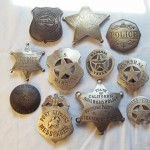 Assortment Of Silver & Brass Badges