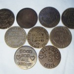 Assortment Of Brothel Tokens