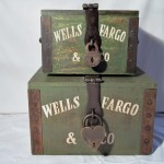 Wells Fargo Boxes $140.00 Set
