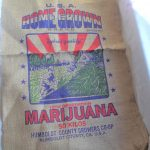 USA Home Grown Hybrid Marijuana California Burlap Bag $8.75