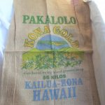 Pakalolo Kona Gold Big Island Growers Co-Op Hawaii Burlap Bag $8.75