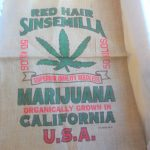 Red Hair Sinsemilla Superior Quality Seedless Organically Grown In California USA Burlap Bag $8.75